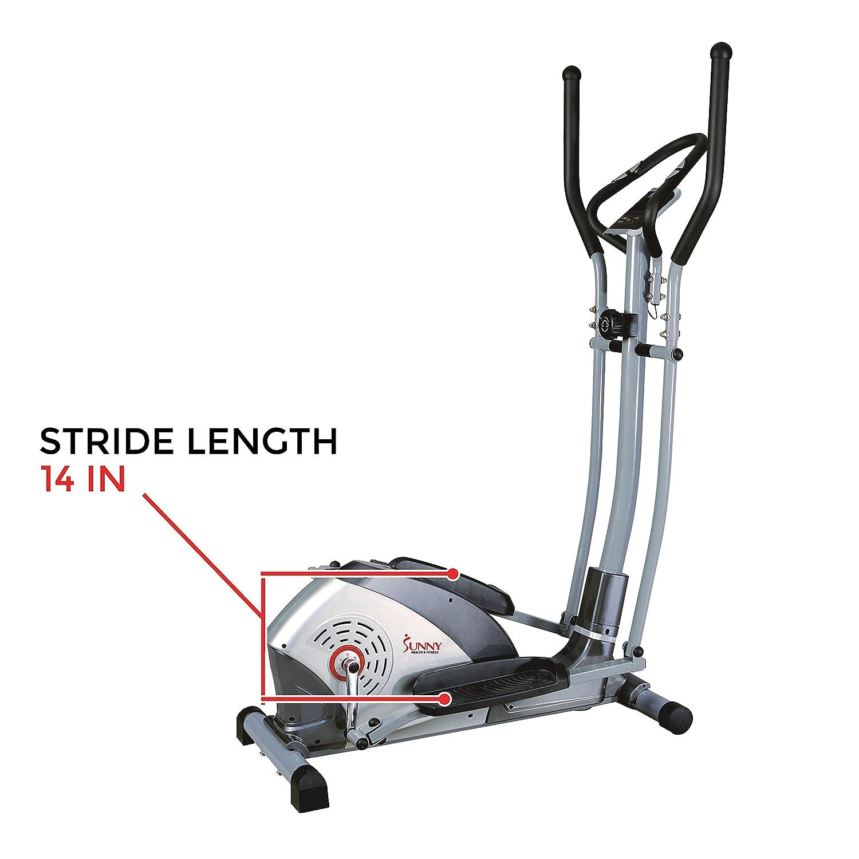 SUNNY salud y Fitness bicicleta elíptica - SF-E1114, Gris: Amazon.es: Deportes y aire libre