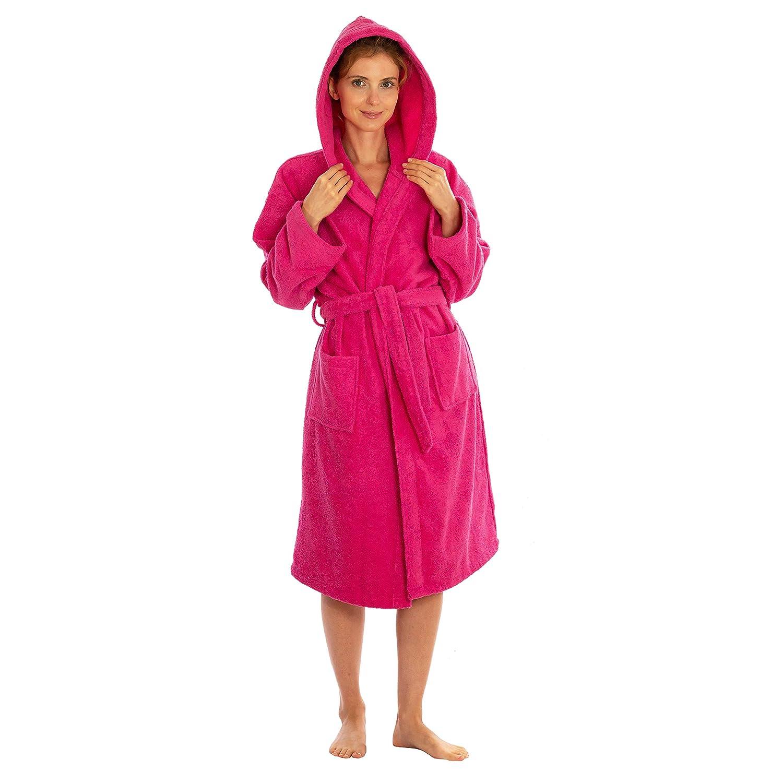 Silken Kids Teenagers Boys Hooded Robe Unisex 100% Turkish Cotton Terry  Bathrobe 82dd6edfc