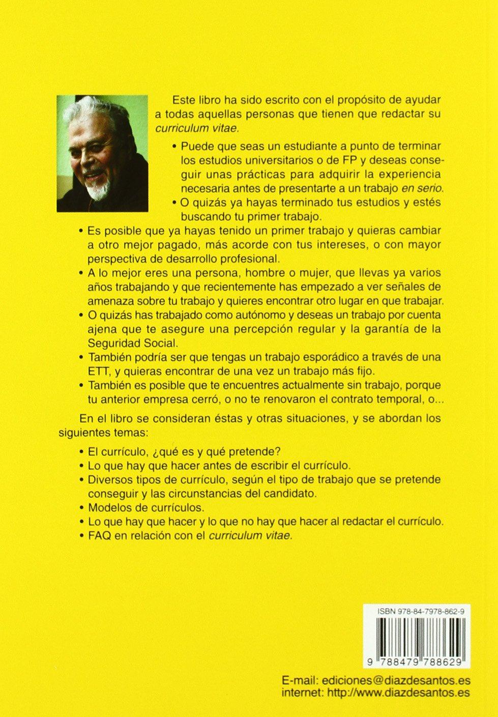 El libro del curriculum vitae: Amazon.es: Luis Puchol Moreno: Libros