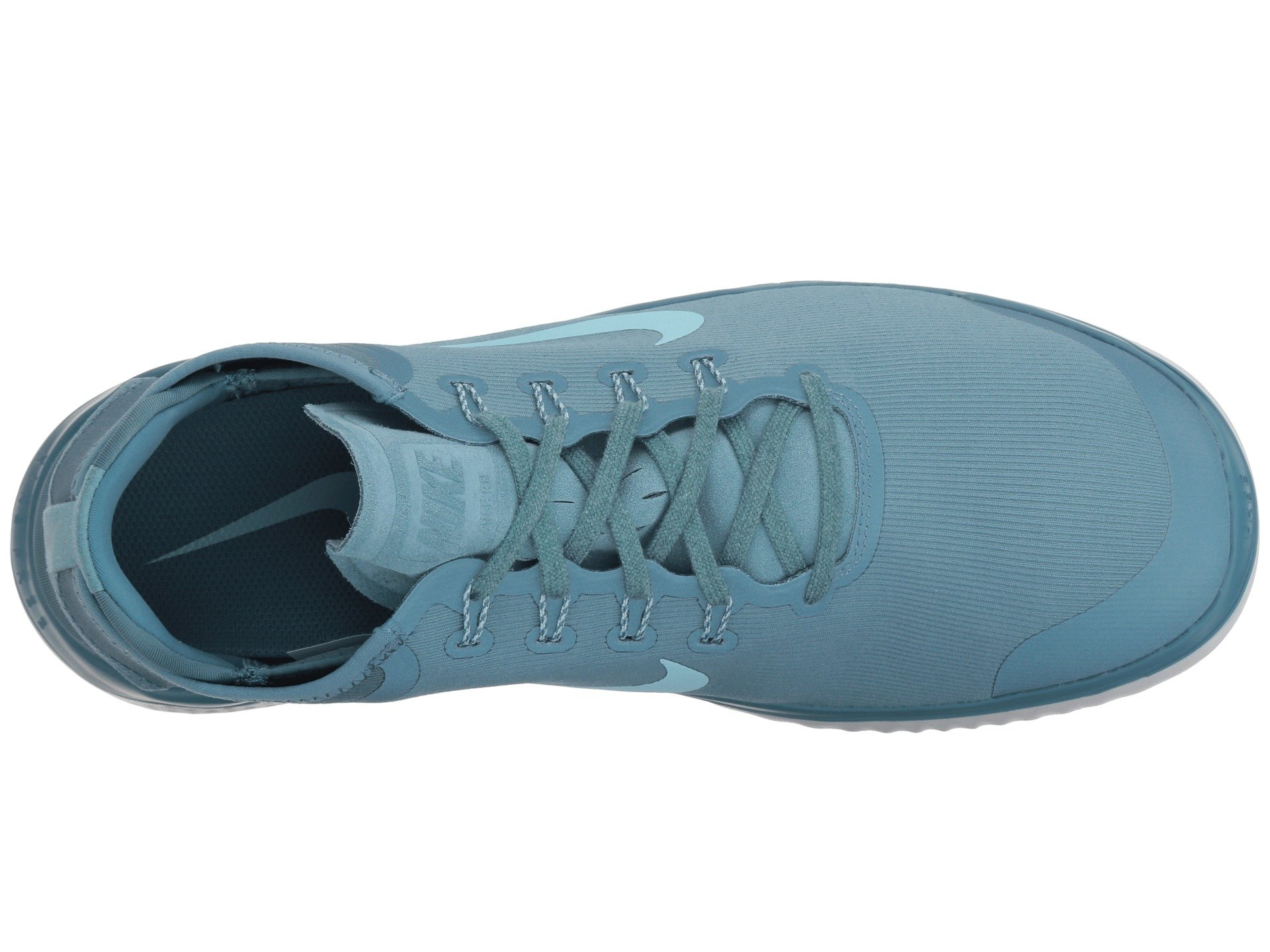 Nike Free RN 2018 Sun Running Shoe (8 D(M) US, Noise Aqua/Pure Platinum) by Nike (Image #9)