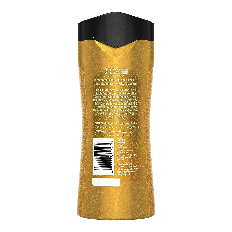 Amazon.com : AXE Exfoliating Body Wash for Men, Snake Peel, 16 oz ...
