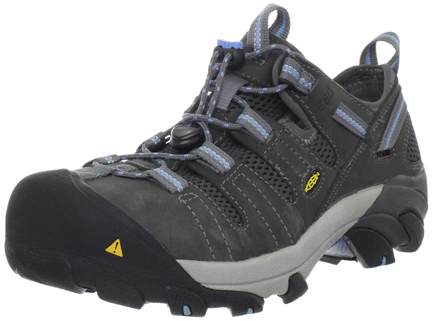 KEEN Utility Women's Atlanta Cool ESD Steel Toe Work Shoe B005BQP27E 6 W US|Gargoyle