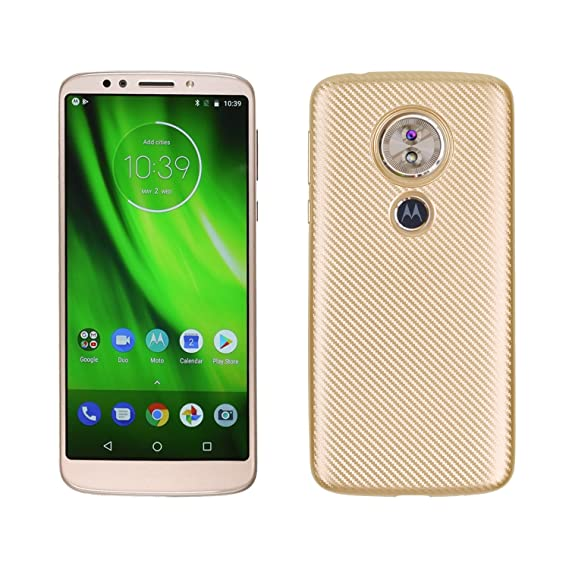 sports shoes 21d7e dee16 Case for Motorola Moto G6 Play XT1922-2 XT1922-9 / Moto G Play Gen 6 Case  TPU Silicone Soft Shell Cover Gold
