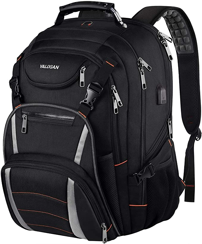 Travel Backpack Lightweight Bookbag Jaguar Computer Bag for Women Men Camping Biking Hiking Cycling Fits up to 15.6 Inch Laptop