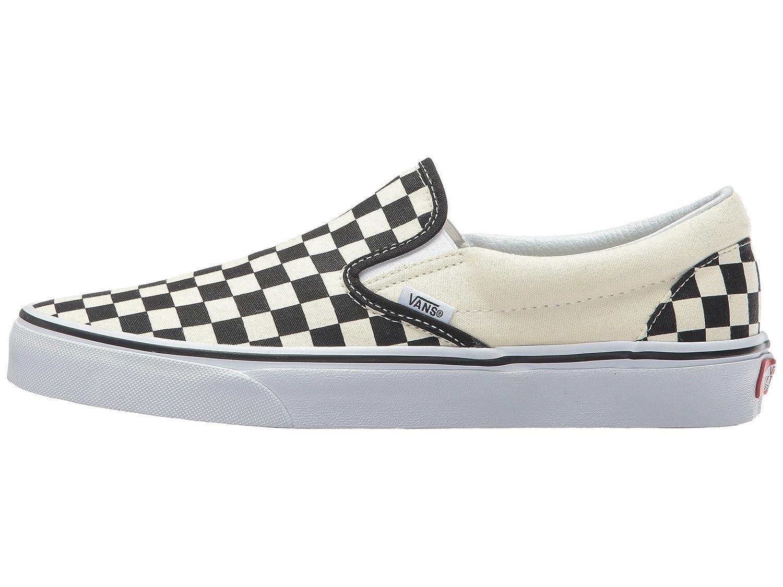 Vans Unisex Classic (Checkerboard) Slip-On Skate Shoe B073LT4NL3 11 M US Women / 9.5 M US Men|Black/White Checkerboard