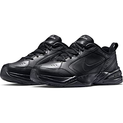 NIKE Air Monarch IV Mens' Training Shoes BlackBlack 415445 001