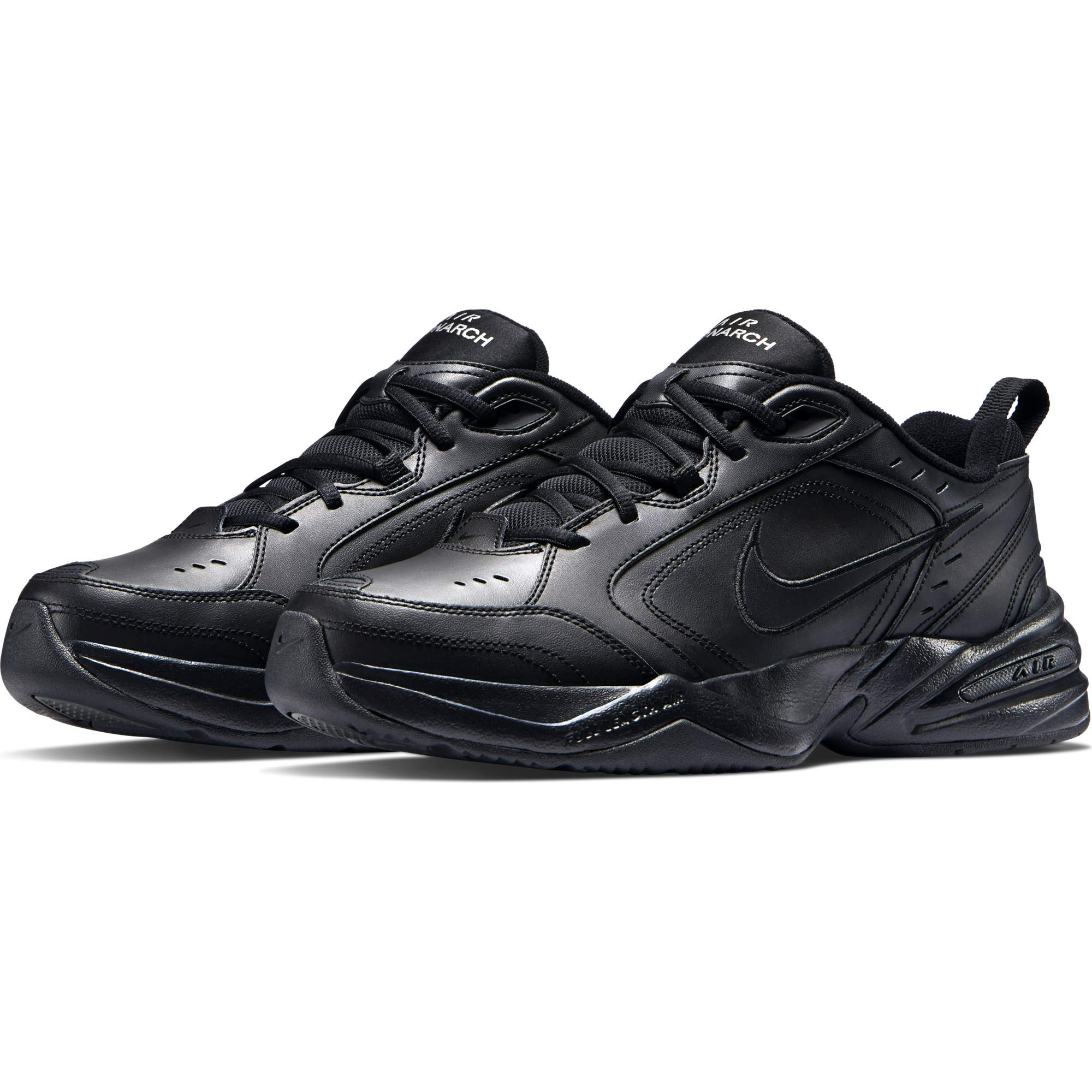 Nike Men's Air Monarch IV Cross Trainer, Black, 6.5 4E