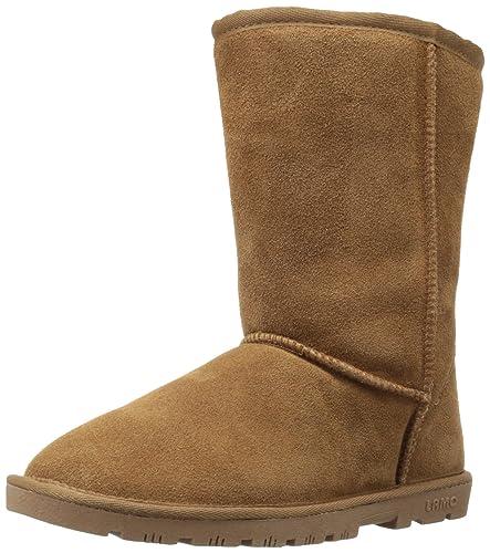 Lamo Women's 9-Inch Flat Boot,Chestnut,7 ...