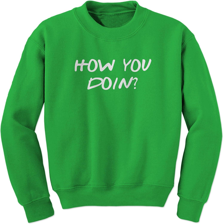 FerociTees How You Doin Joey Funny Crewneck Sweatshirt