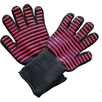 Extreme High Heat Resistant Gloves 1 pair for BBQ,Kitchen Food Grade Oven Gloves,Against Heat Up to 932℉,Cut Resistant…