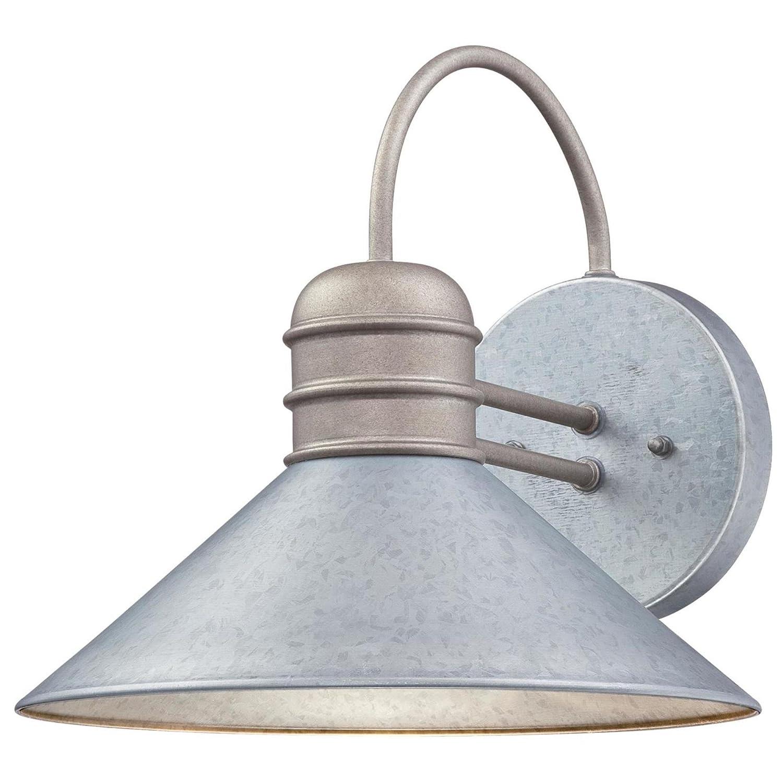 Westinghouse Lighting 6360900 Watts Creek One-Light, Galvanized Steel Finish Outdoor Wall Fixture