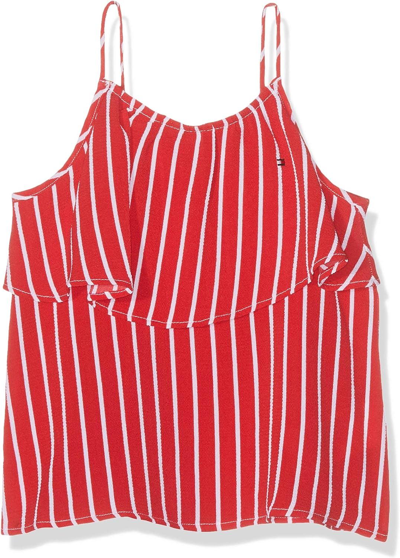 Tommy Hilfiger Girls Fine Stripe Top Slvls Vestaglia Bambina