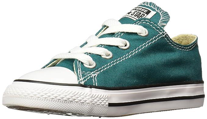 dba28288bd9db Converse Chuck Taylor All Star Seasonal Ox Fashion Sneaker Shoe - Rebel  Teal - Infant -