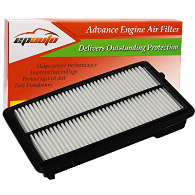 EPAuto GP477 (CA11477) Replacement for Honda/Acura Extra Guard Rigid Panel Air Filter for Accord V6 (2013-2020), TLX V6 (2015-2020): Automotive [5Bkhe0812626]