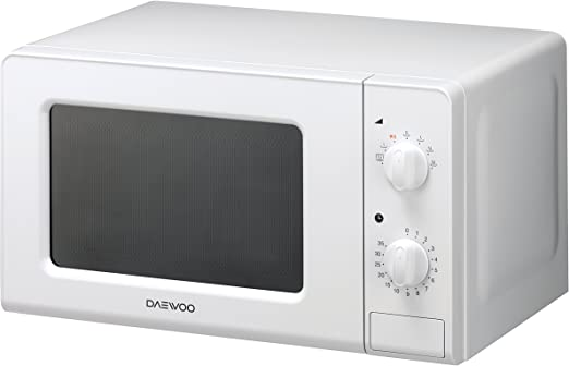 Daewoo KOR-6F07 Microondas, 20 litros, Manual, sin Grill, Color ...