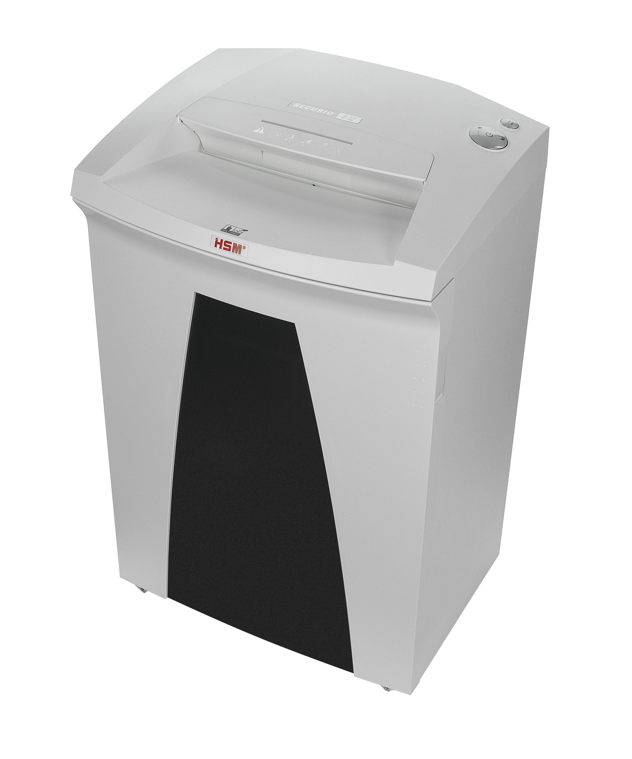 HSM SECURIO B32c, 17-19 Sheets, Cross-Cut, 21.7-Gallon Capacity Shredder