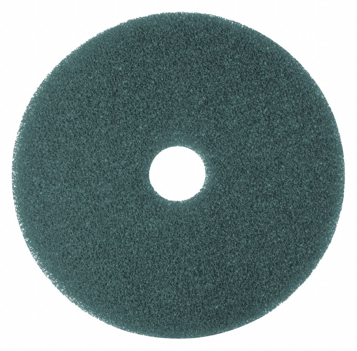 Cleaning Pad, Blue, Size 16'', Round, PK5 by Tough Guy (Image #1)