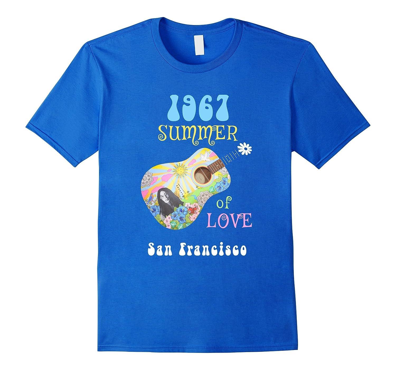 1967 Summer of Love San Francisco Hippie T-shirt-CD