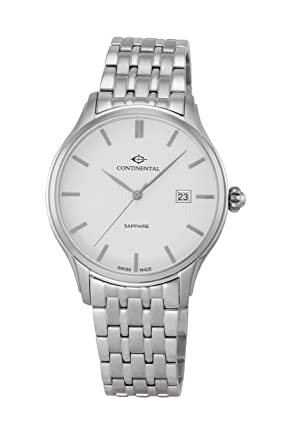 CONTINENTAL - 12206-GD101130 - Swiss Made Men's Quartz Watch with Date and  Sapphire Crystal