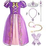 ReliBeauty Girls Dress Puff Sleeve Princess Costume