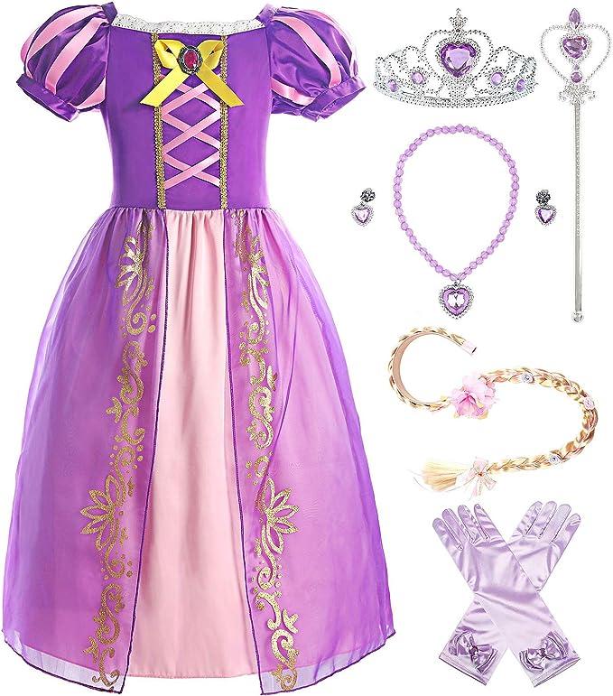 Amazon.com: ReliBeauty - Disfraz de princesa para niña: Clothing
