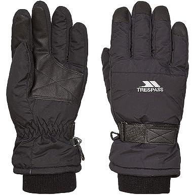 Trespass - Gants de ski GOHAN II - Enfant (8-10 ans) (Noir)  Amazon.fr   Vêtements et accessoires b6183e464b0