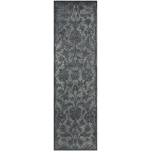 Safavieh Antiquities Collection AT824B Handmade Traditional Oriental Grey and Multi Wool Runner 2 3 x 8