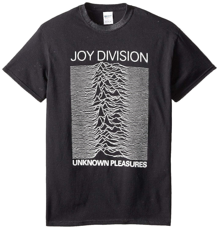 WSND Mens Joy Division Unknown Pleasures T-Shirt