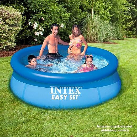 INTEX Easy Set Swimming Pool 244 x 76 cm Piscina Piscina planschbecken: Amazon.es: Juguetes y juegos