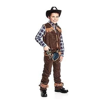 Kostumplanet Cowboy Kostum Fur Kinder Mit Chaps Grosse 152