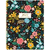 """2022 Monthly Planner - 18-Month Planner with Tabs & Pocket, Contacts and Passwords, 8.5"""" x 11"""", Thick Paper, Jul. 2021 - Dec."""