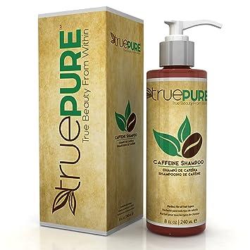 49c34d2d3 Amazon.com  TruePure Natural Caffeine Shampoo