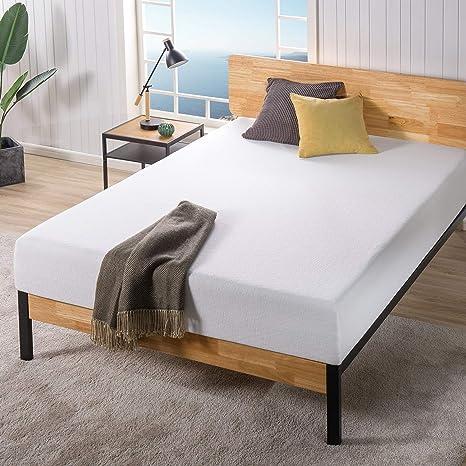 Amazon Com Zinus 10 Inch Ultima Memory Foam Mattress Pressure Relieving Certipur Us Certified Bed In A Box Full Furniture Decor
