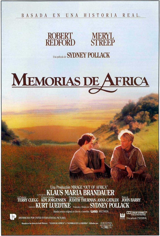 Memorias De África Blu-Ray + DVD + B.S.O. + Póster + Postales Inéditas Blu-ray: Amazon.es: Robert Redford, Meryl Streep, Klaus Maria Brandauer, Michael Kitchen, Sydney Pollack, Robert Redford, Meryl Streep, Sydney Pollack: