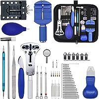 Gootoop 149Pcs Kit de Reparación de Relojes, Herramientas de Reloj Profesionales, Kit Relojero con Abridor y Pasadores…