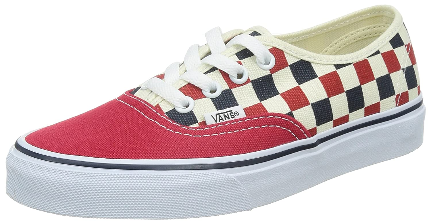 Vans U Authentic - Zapatillas Unisex 40.5 EU|Rojo (Golden Coast)