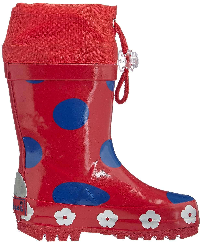 Playshoes Girls Wellies Big Dots Wellington Boots: Amazon.co.uk: Shoes &  Bags