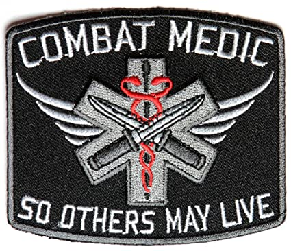 Amazon Combat Medic Patch So Others May Live By Ivamis