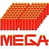 EKIND 9.5cm Foam Darts for Nerf N-Strike Elite Mega Series 96-Dart Refill Pack