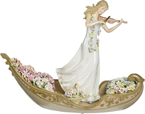 Cosmos 96643 Flowering Inspiration Ceramic Figurine, 13-1 4-Inch
