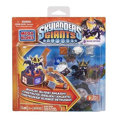 Mega Bloks Skylanders Dark Spyro's Battle Portal: Toys & Games