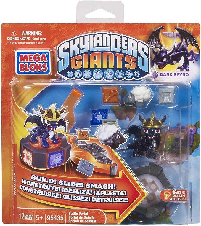 NEW Mega Bloks Building Blocks 95435 Skylanders Giants Exclus Dark Spyro RARE