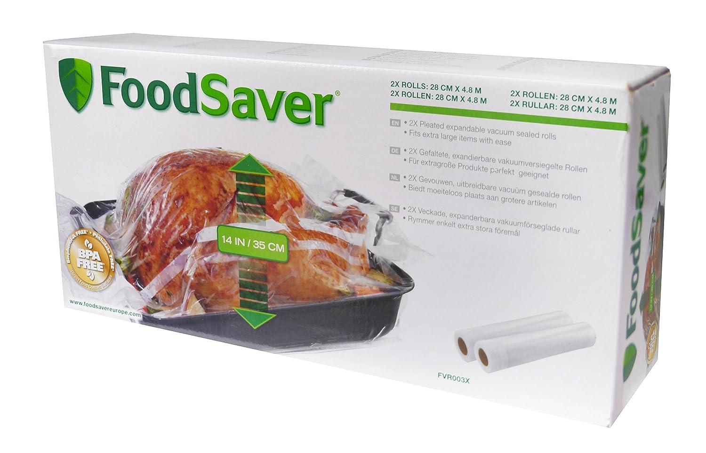 Foodsaver FVR003X Rollos para envasado al vacío: Amazon.es: Hogar
