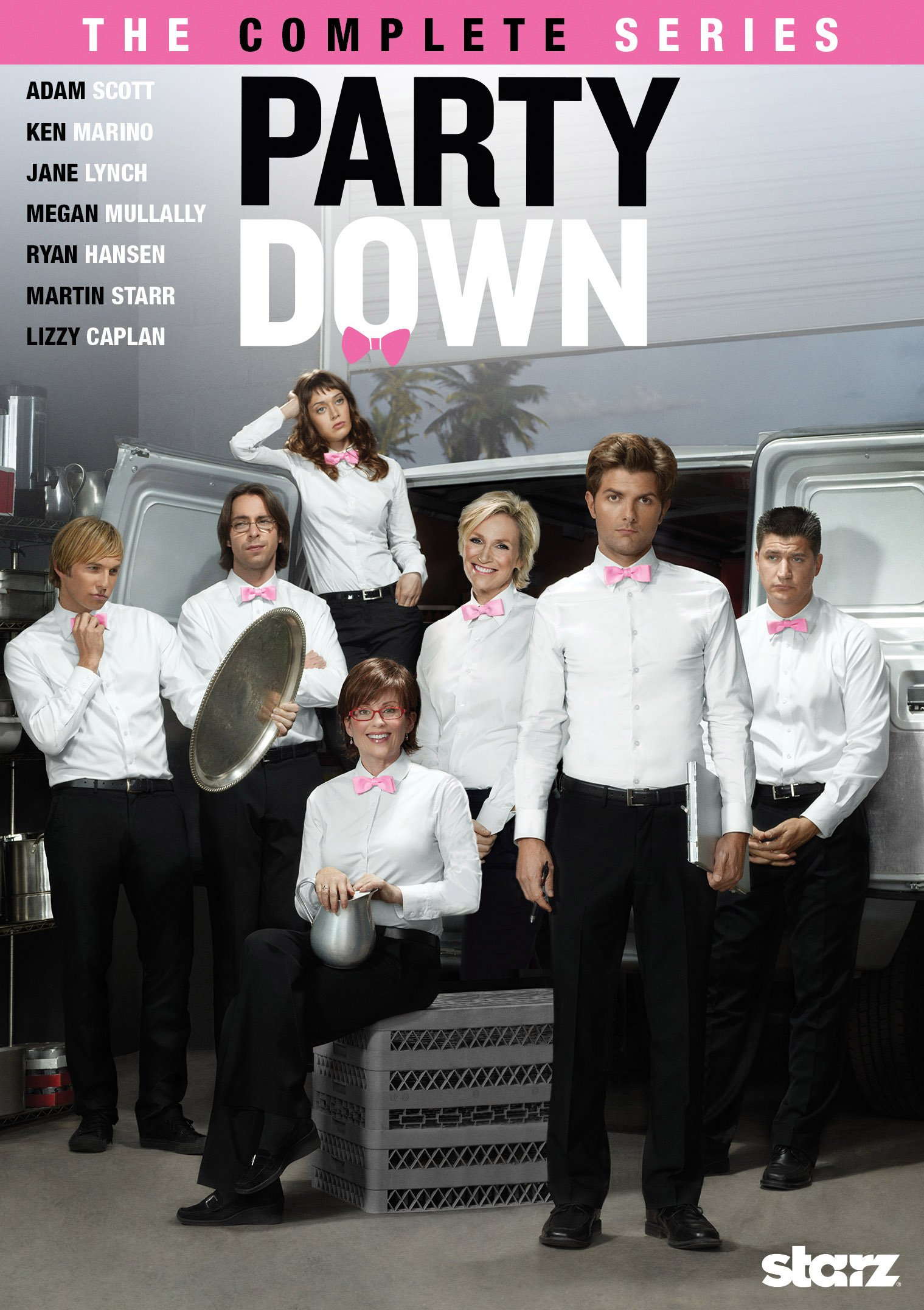 DVD : Party Down: The Complete Series (Boxed Set, 4 Disc)