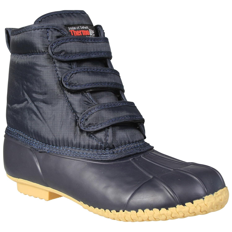 cda9307da35 Waterproof Muckboot Ankle Height Wellington Gardening Boot with Hook   Loop  Fastening  Amazon.co.uk  Shoes   Bags