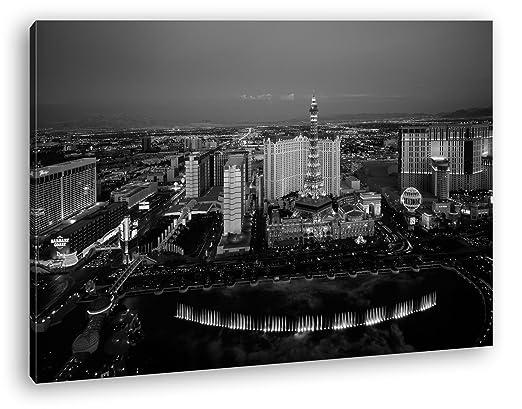 deyoli berühmtes Casino en Las Vegas Efecto: Negro/Blanco ...
