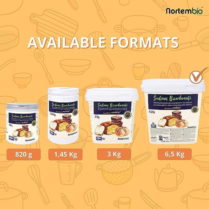NortemBio Bicarbonato de Sodio Ecológico 6,5 Kg. Grado Alimentario ...