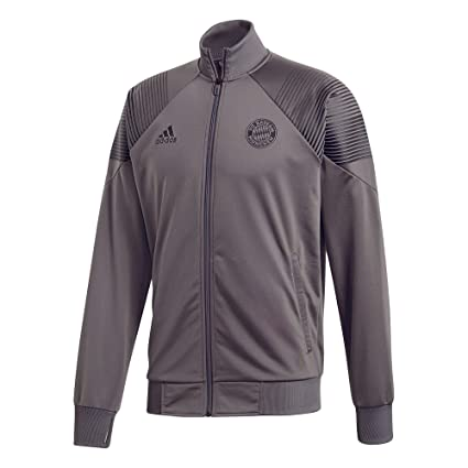 a66a97926 adidas 2018-2019 Bayern Munich Icon Track Jacket (Grey)