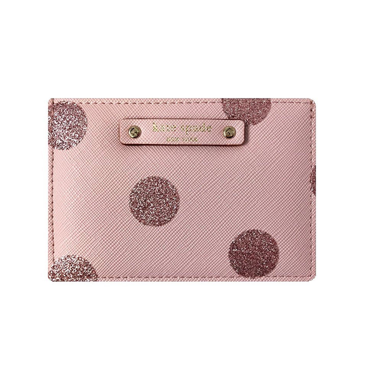 Kate Spade New York Graham Haven Lane Card Case Wallet (Dark Ballet Slipper)