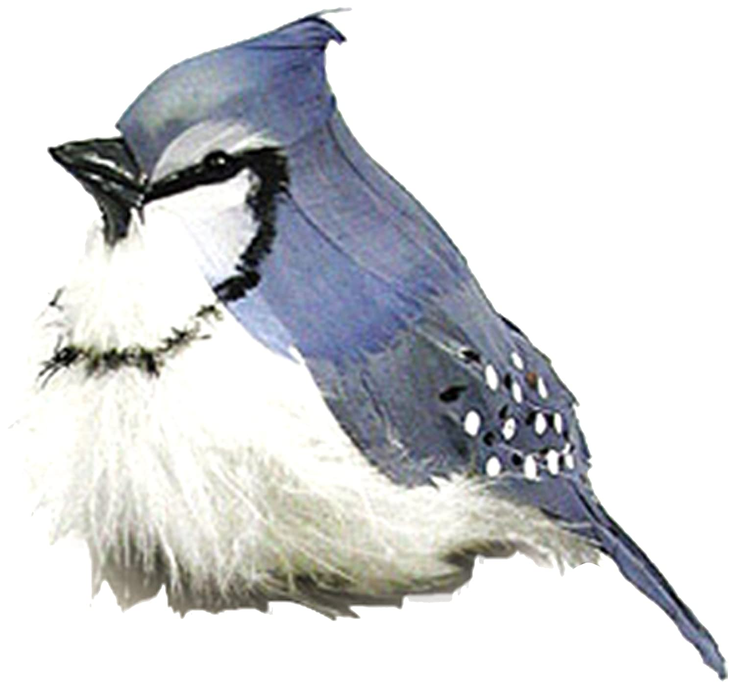 Touch of Nature 21177 Fat Blue Jay Feather Bird, 5-1/2-Inch Midwest Design Imports Inc.